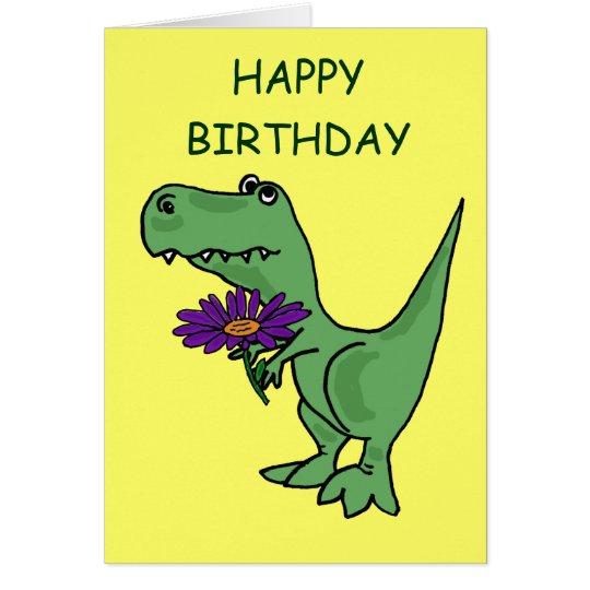 AB- T-Rex Birthday Card