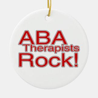 ABA Autism Therapists Teacher Christmas Ornament