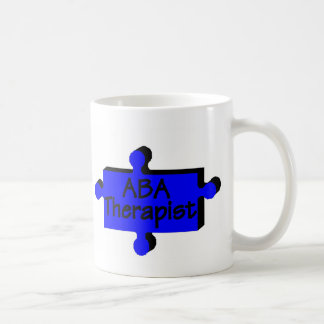 ABA Therapist (Blue P) Basic White Mug