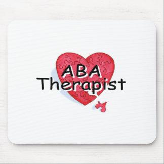 ABA Therapist (Hrt Puzzle) Mouse Mat
