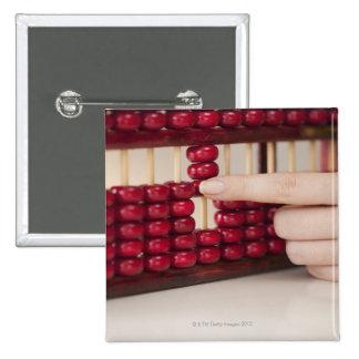 Abacus 15 Cm Square Badge