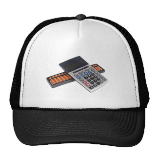 Abacus and calculator hats