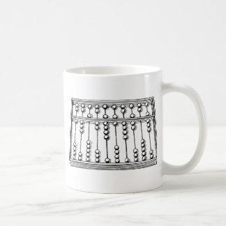Abacus Basic White Mug