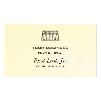 Abacus Business Cards