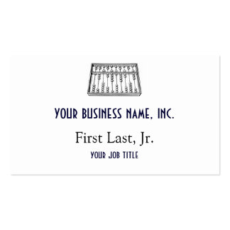 Abacus Business Card Templates