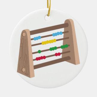 Abacus Christmas Ornament