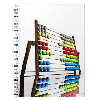Abacus, computer artwork. notebook