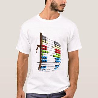 Abacus, computer artwork. T-Shirt