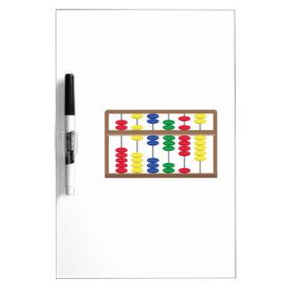 Abacus Dry-Erase Whiteboard