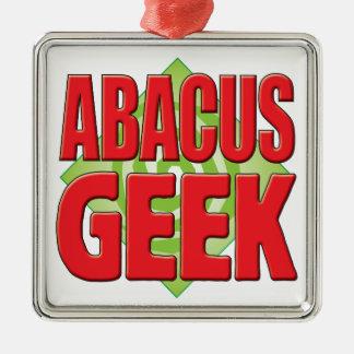 Abacus Geek v2 Christmas Tree Ornament