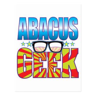 Abacus Geek v4 Postcard