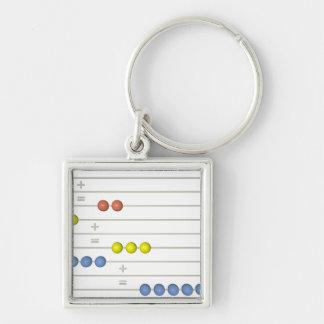 abacus key chain