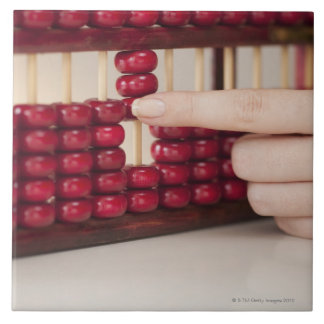 Abacus Large Square Tile