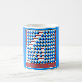 ABACUS MATH CALCULATOR CLASSIC WHITE COFFEE MUG