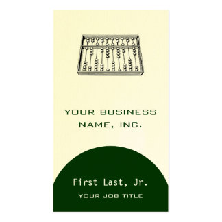 Abacus Pack Of Standard Business Cards
