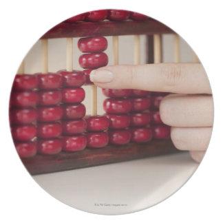 Abacus Dinner Plate