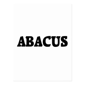 ABACUS POST CARD