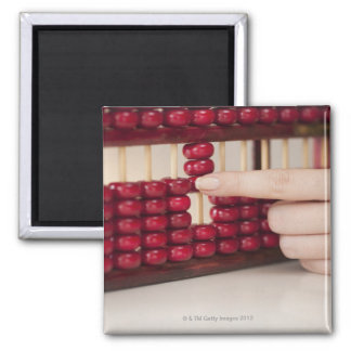 Abacus Square Magnet