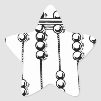 Abacus Star Stickers