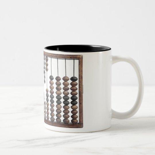 abacus Two-Tone coffee mug