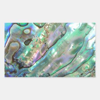 Abalone Rectangular Sticker
