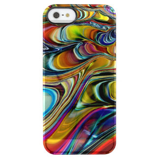 Abalone Shell Abstract Clear iPhone SE/5/5s Case