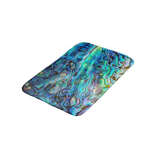 Abalone shell bath mat