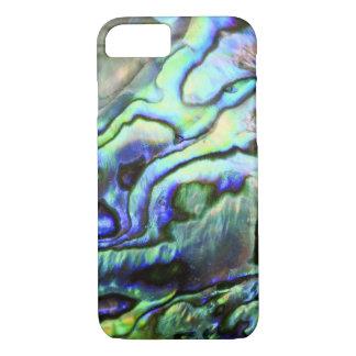 Abalone shell green blue paua iPhone 7 case