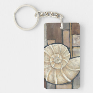 Abalone Shell Key Ring