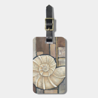Abalone Shell Luggage Tag