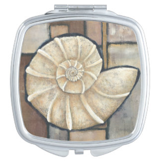 Abalone Shell Mirrors For Makeup