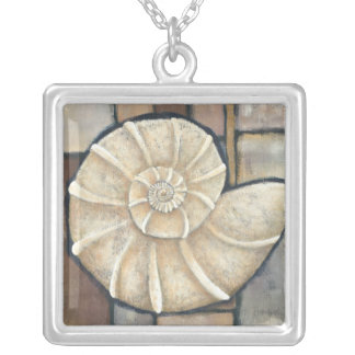 Abalone Shell Silver Plated Necklace