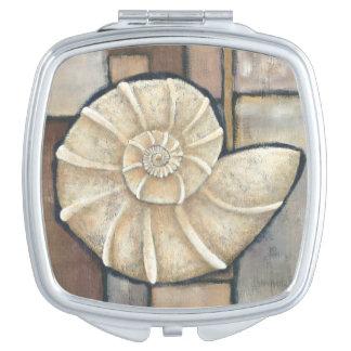 Abalone Shell Travel Mirror