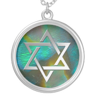 Abalone Star Silver Plated Necklace