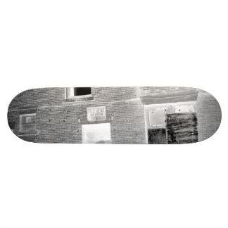Abandoned Apartment For Rent - negative Skateboard