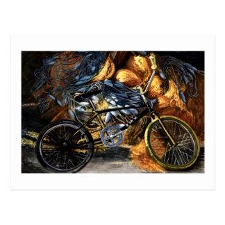 Abandoned Bicycle Postcard