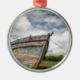 Abandoned Boat at Kirkcudbright Christmas Ornament