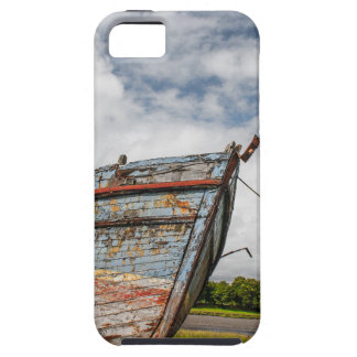 Abandoned Boat at Kirkcudbright iPhone 5 Cover