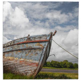 Abandoned Boat at Kirkcudbright Napkin