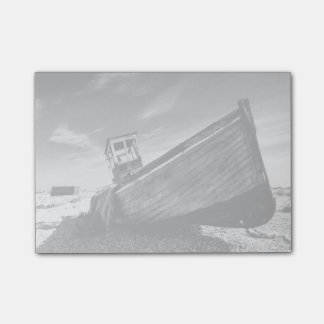 Abandoned Boat On Dungeness Beach Post-it® Notes