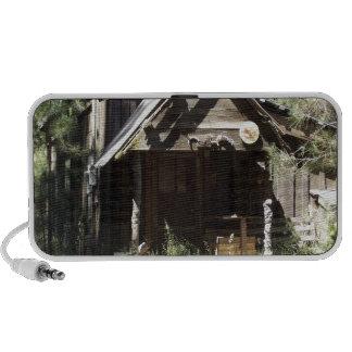 Abandoned Cabin in the Woods Travel Speaker
