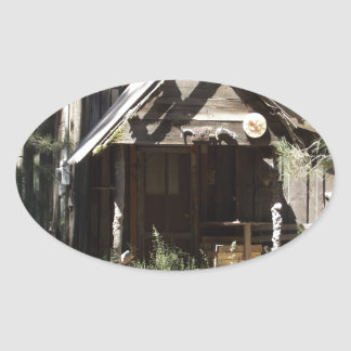 Abandoned Cabin in the Woods Stickers