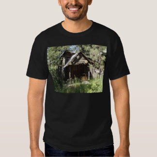Abandoned Cabin in the Woods Tees