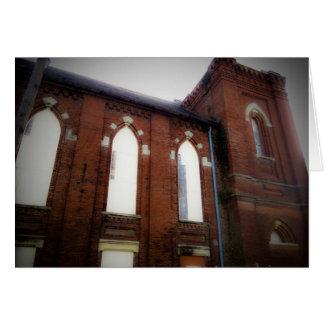 Abandoned Church Blank Greeting Card