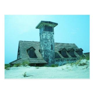 Abandoned Coast Guard Station Postcard