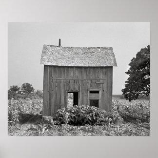 Abandoned Farmhouse, 1939 Print