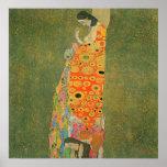 Abandoned Hope by Gustav Klimt Poster