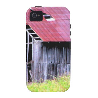 ABANDONED HORSE BARN IN AUTUMN FALL VIBE iPhone 4 COVERS