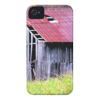 ABANDONED HORSE BARN IN AUTUMN FALL iPhone 4 COVER