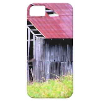 ABANDONED HORSE BARN IN AUTUMN FALL iPhone 5 COVERS